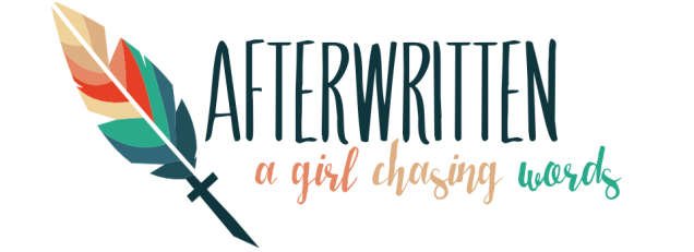 afterwritten feather banner